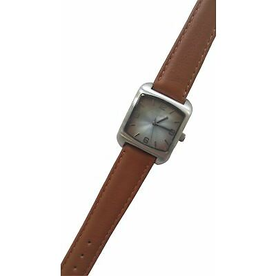 Fossil WATCH-BAR Armbanduhr Edelstahl Lederband NEU! JR9066-7