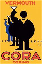 Poster Vintage Claw /& Mes Armando Head Carpano Aperitivo Art Graphics Quality