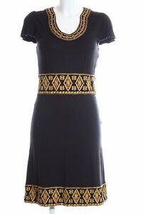 APART Shirtkleid schwarz-hellorange grafisches Muster ...