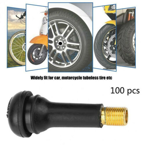 20//50//100pcs Car Snap-in Tire Valve Stem Replacement 3 Model TR412//TR413//TR414 V