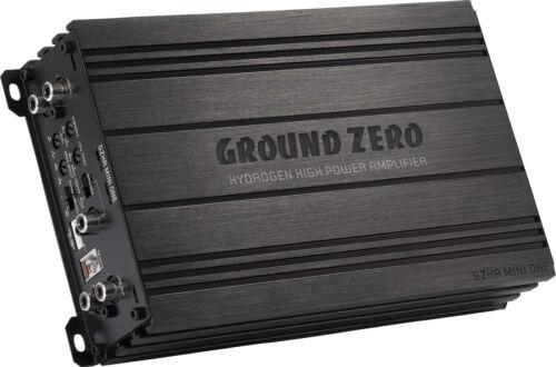 Ground Zero gzha mini one 1 canal mono 630 RMS monoblock etapa final amplificador