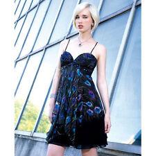 NWT $593 ALBERTO MAKALI Peacock Cocktail Silk Dress 10