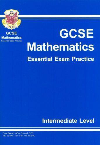1 of 1 - GCSE Maths Essential Exam Practice: Intermediate Pt. 1 & 2 By  Richard Parsons