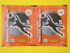 Panini EURO 2008 Edition Mc Donalds Tüte pack bustine Nr. 5 orange