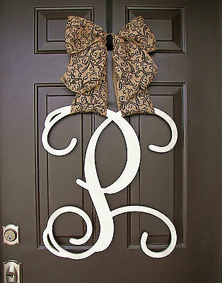 """18/"""" Wooden Seahorse Letter Unfinished wood letter Room Decor Custom 18in"""