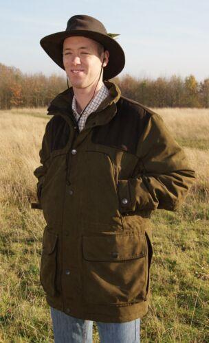 Sherwood Forest Kensington Jacket Mens Waterproof Hunting Fishing Shooting Coat