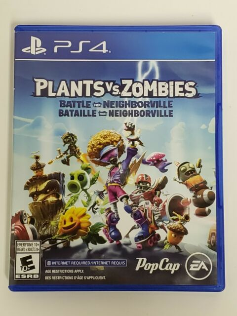 Plants vs Zombies: Battle for Neighborville (Sony PlayStation 4, PS4) Pre-Owned