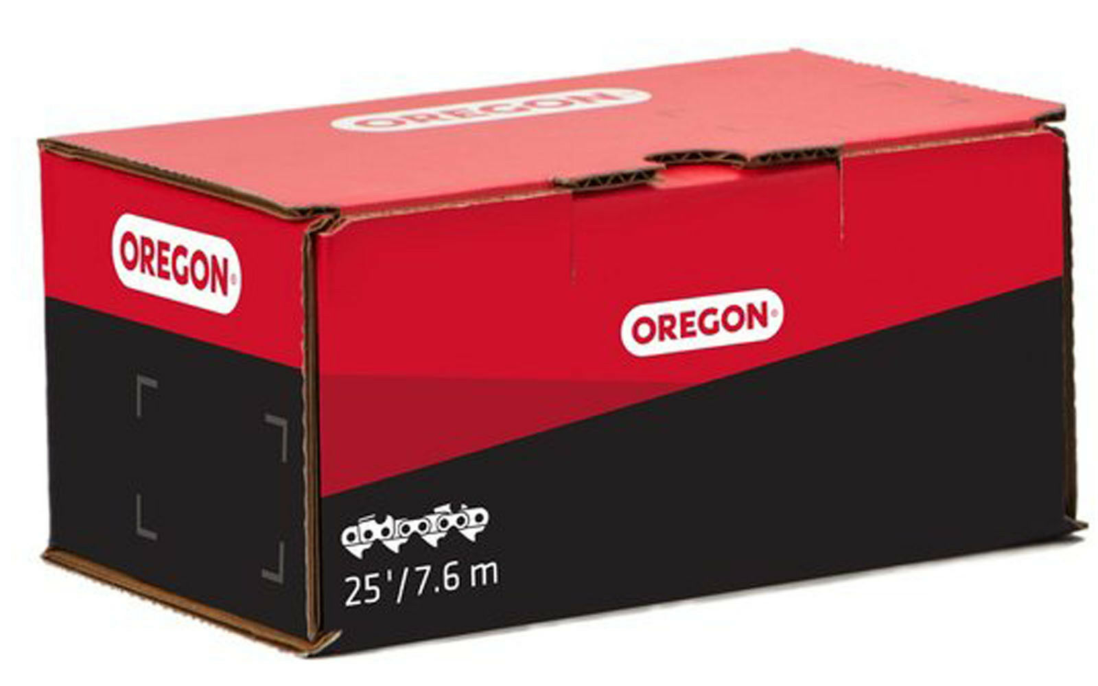 """Oregon 25 Foot Roll of Saw Chain 73DPX Semi Chisel 3//8/"""" Pitch 0.058/"""" Gauge"""