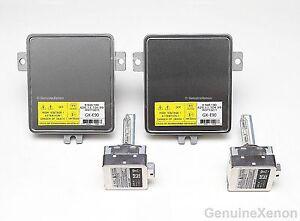 2x-NEW-2006-2008-BMW-3-series-E90-E91-Xenon-Ballast-amp-Bulb-HID-Headlight-Control