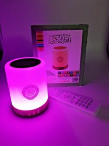 Bluetooth-Smart-Quran-Speaker-Ultimate-Table-Hanging-Touch-Lamp-USB-Remote-UK