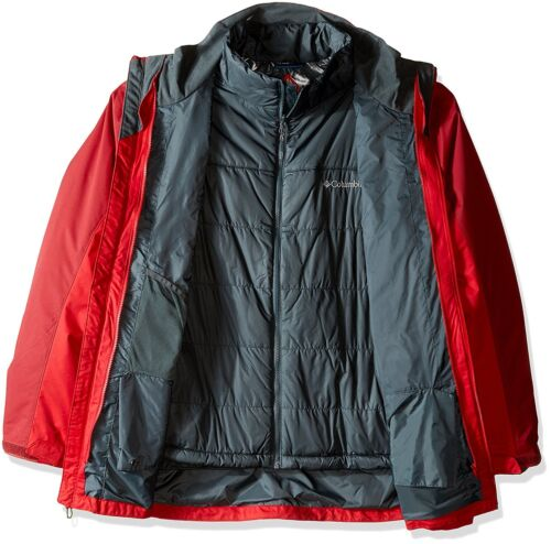 Mountain Columbia Veste Lrge New Whirl Jester interchangeable Bird pour 2x Red hommes wHH074q
