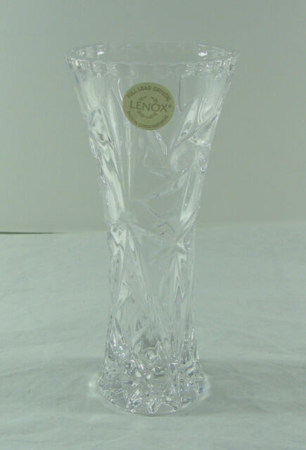 6 Tall Lenox Crystal Star Vase Ebay