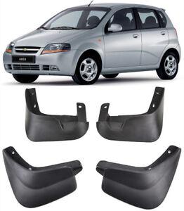 2007-2011 4Pcs Mud Flaps Splash Guards Mudguards For Chevrolet Aveo Sedan T250