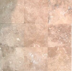 Image Is Loading Walnut 4x4 Honed Filled Travertine Tile Backsplash Floor