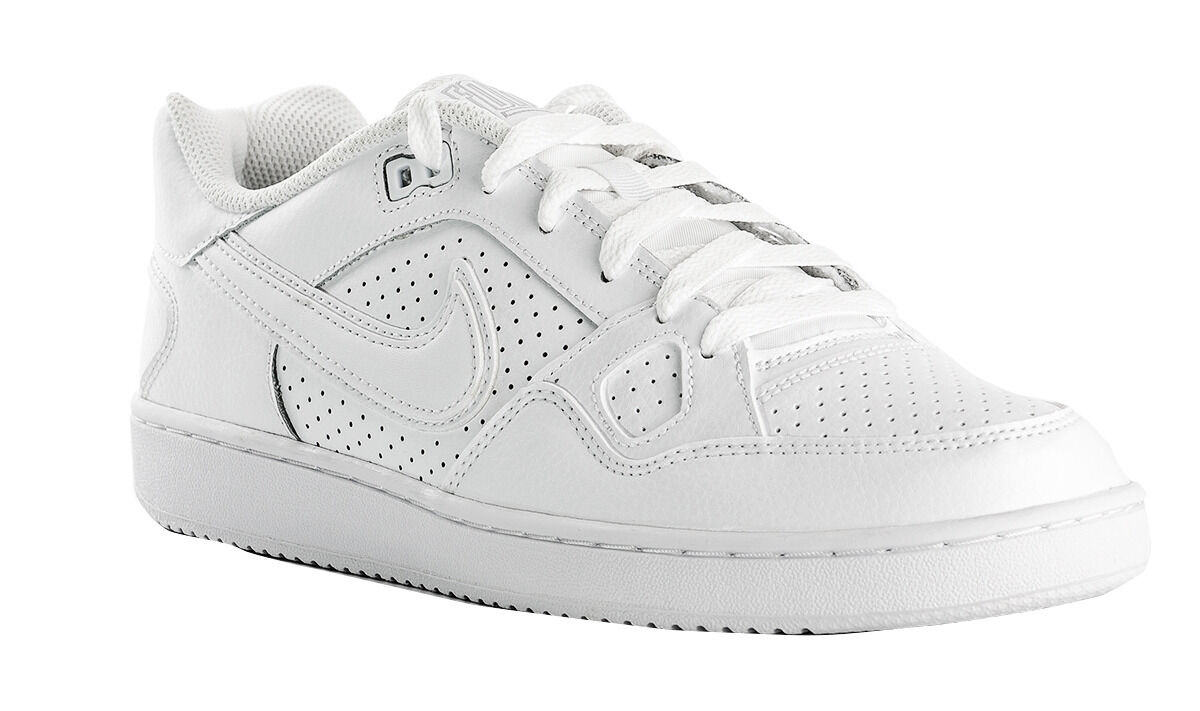 Nike Son of Force Low Low Low Top Mens Athletic shoes White White 616775 101 437b11