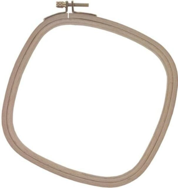 Edmunds Wood Embroidery Hoop with Round Edges 10-Inch