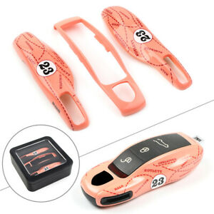 Pink Pig Case Shell Cover for Porsche Cayenne Panamera 911 Remotes Key Fob 10-20