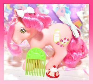 My-Little-Pony-MLP-G1-Vtg-Sweetberry-Strawberry-Surprise-Original-Sun-Pick