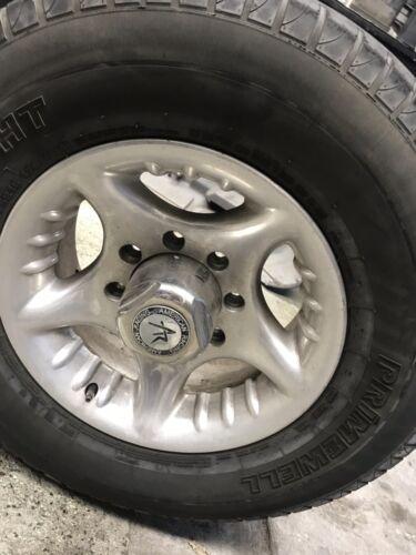 """16x7 16/"""" American Racing 5 Spoke Prime Polished 8x165 8 Lug  Chevy Rims Wheels"""
