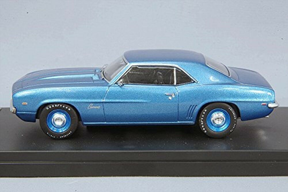 PremiumX PRD044 Mini Car 1 43 Chevrolet Camaro Camaro Camaro 1969 Diecast Finished bluee 800d1d