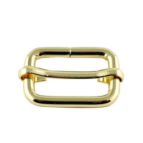 Metal Sliding Bar Buckle Strap Triglides for Handbag Backpack Luggage Bag 25mm