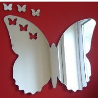 Frilly Butterflies out of Butterfly Acrylic Mirror (Several Sizes Available)