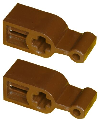 Missing Lego Brick 6641 OldBrown x 2 Technic Transmission Changeover Catch664102