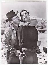 """Tyrone Power / Hugh Marlowe  (Pressefoto '51) - """"Zwei in der Falle"""""""