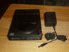 Vintage Rare Aiwa Discman Compact CD Player DX-P1 Digital Walkman w/Battery Case