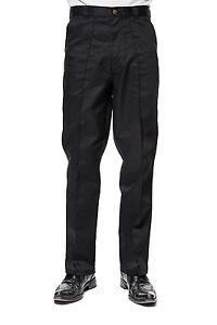 Uneek-Mens-Workwear-Trousers-Work-Pants-Waist-Sizes-28-034-52-034-Black-Blue-UC901
