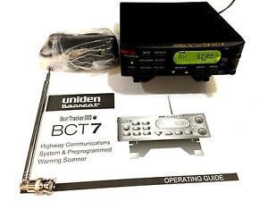 uniden bct7 800mhz beartracker police fire ems military ham radio rh ebay ie Uniden Bearcat Scanner Uniden Bearcat Scanner