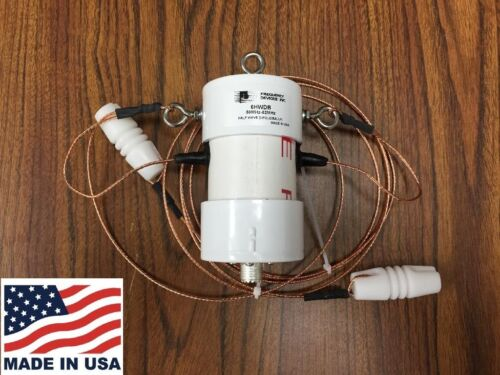 6HWDB 6 Meter Half Wave Dipole Antenna with W2FMI 1500 watt Current Balun