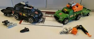 TRANSFORMERS GENERATIONS THRILLING 30 Hoist and Trailcutter/Trailbreaker