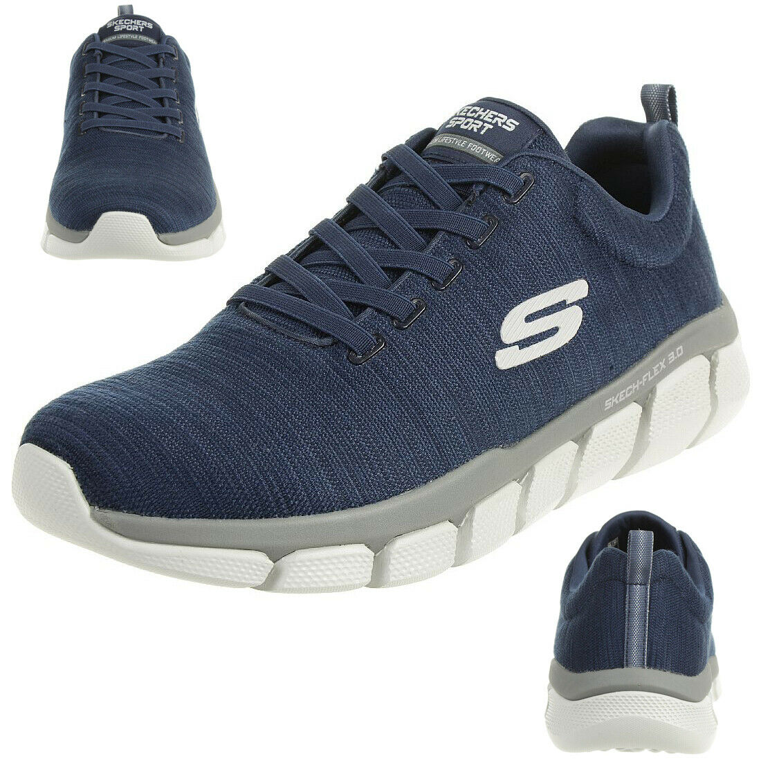 Skechers Halbschuh Blau: : Schuhe & Handtaschen