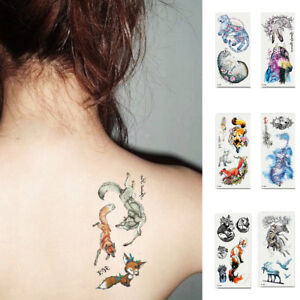 18ee83df0 Image is loading AM-LK-Body-Art-Temporary-Waterproof-Decal-Decoration-