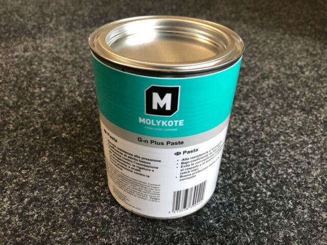 Molykote 4045293 G-n Plus Paste Festschmierstoffpaste für Metallbauteilen 1Kg