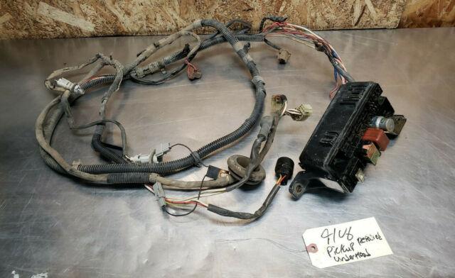 90 Toyota 4runner Pickup Underhood Wire Wiring Harness Fuse Box Headlight Oem 91