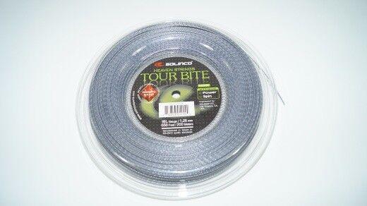 NEUSolinco Tour Bite Diamond R. Saitenrolle 200m Tennis 1.30mm string reel new  | Feinen Qualität  | Exquisite Handwerkskunst  | Schöne Farbe