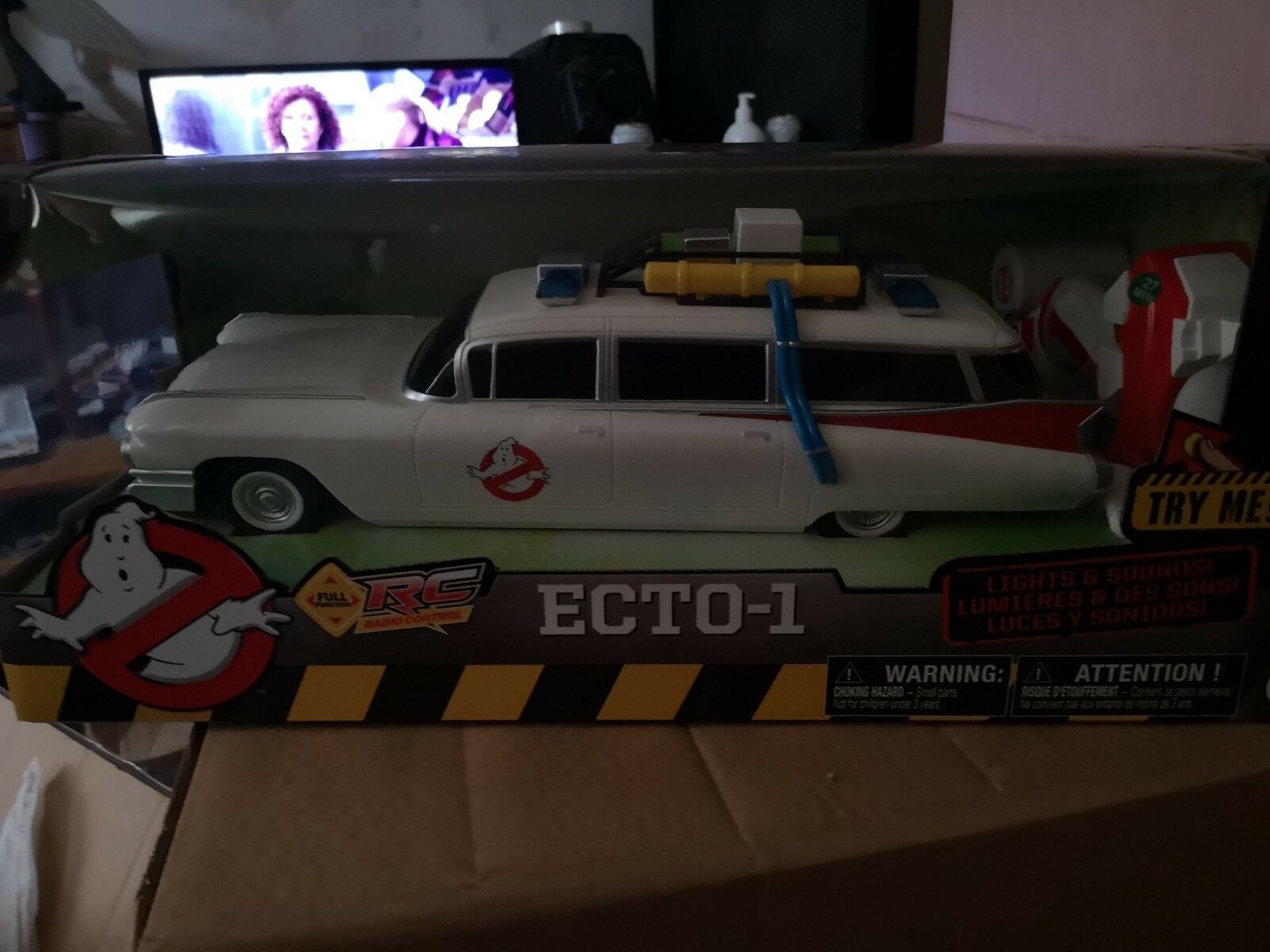 Nkok Ghostbusters ecto 1 Remote Control 14 Inch