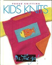 Kids Knits -  Vogue Knitting on the Go!  20 projects, NEW HB