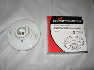 Peachy New Cooper Porcelain Ceiling Lampholder Keyless Light Socket 660W 4 Wiring Digital Resources Xeirawoestevosnl