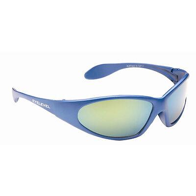 Childrens Kids Boys Wrap Around Sports Ski Retro Mirror Shades Black Sunglasses