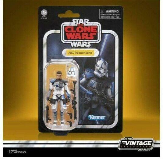 STAR WARS Vintage Collection Clone Wars ARC Trooper ECHO 3.75in Figure PRE-ORDER