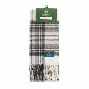 Scottish 100 /% Authentic Wool Lindsay Tartan Clan Scarf New