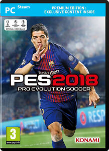 Details about Pro Evolution Soccer 2018 Premium Edition PC CD Key - PES  Steam Download Code UK