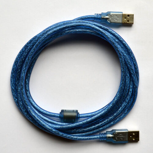 33ft 10m USB 2.0 Cable Type A Male to Type A Male Cable Cord for printer scanner