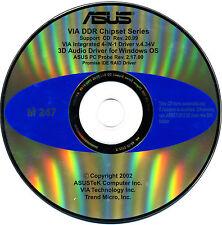 ASUS GENUINE VINTAGE ORIGINAL DISK FOR A7V333 Motherboard Drivers Disk M247