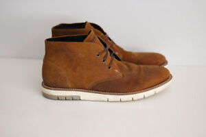 a8f0e1b7d86 Details about Wolverine 'Gibson' Chukka Boots - Brown Amber Suede - Size  10US (U40)