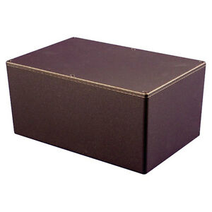Hammond-Diecast-Aluminium-Enclosure-1550-Black-222x146x105mm-Project-Case-Box