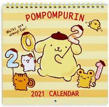 Gudetama Wall Calendar M 2021  Sanrio kawaii NEW